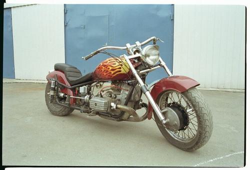 тюнинг мотоцикла урал